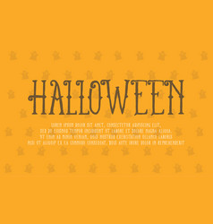 Halloween theme greeting card collection vector