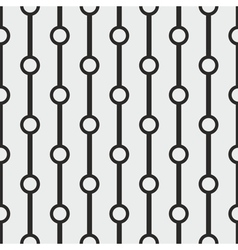 Tile black and grey pattern or seamless background vector image