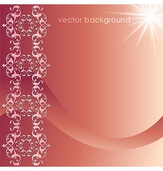 decorative cover template fifty five vector image