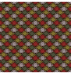 Abstract chinese flourish pattern wallpaper vector