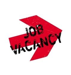 Job vacancy stamp vector