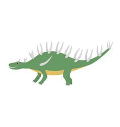 kentrosaurus icon cartoon of vector image