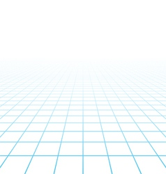 Perspective grid background vector image vector image