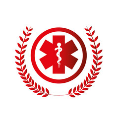 Medical symbol isolated icon vector