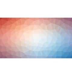 Red white blue polygonal mosaic background vector