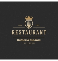 Restaurant shop design element vector