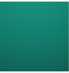 Knitted style mint color seamless pattern vector