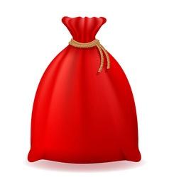 christmas bag 01 vector image