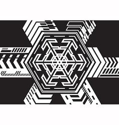 Hexagonal expansion vector