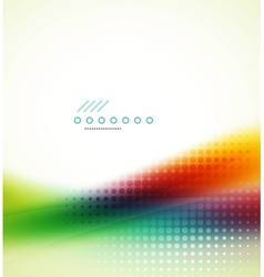 Rainbow flowing wave vector