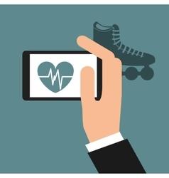 Health app vector