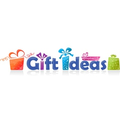 Gift ideas vector