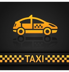 Racing background template taxi cab backdrop vector