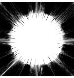 Explode flash cartoon explosion star burst vector