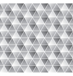Geometrical seamless pattern in black and white vector image