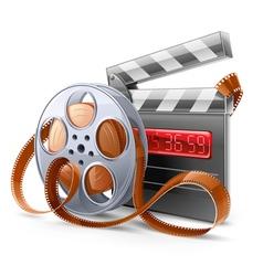Movie elements vector