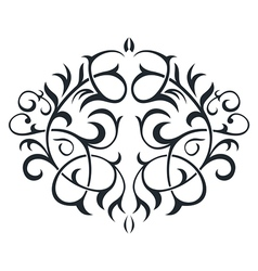 Ornament in form of the circle vector image vector image