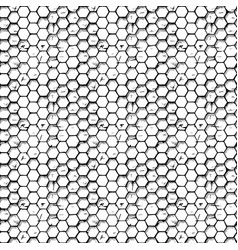 simple honeycomb pattern vector image vector image