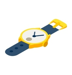 Watches isometric 3d icon vector image