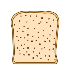 Loaf icon image vector