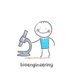 Bioengineer vector