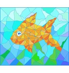 Fish vitrage vector