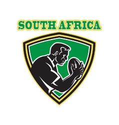 south africa rugby vector image