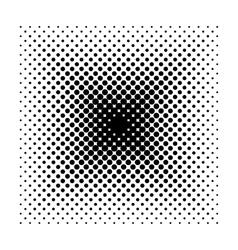 Square halftone geometric shapes dot vector