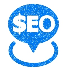 Geotargeting seo grainy texture icon vector