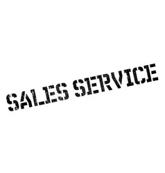 sales service rubber stamp vector image