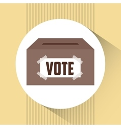 Election day design vector