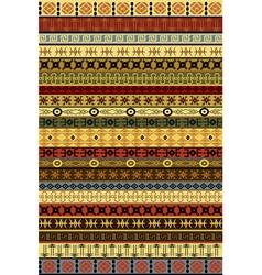 Ethnic carpet vector