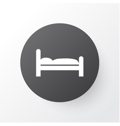 Bed icon symbol premium quality isolated doss vector