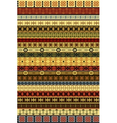 Ethnic carpet vector