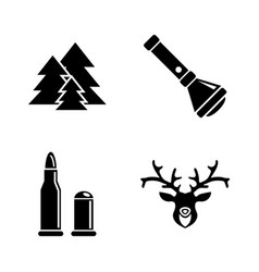poaching simple related icons vector image vector image