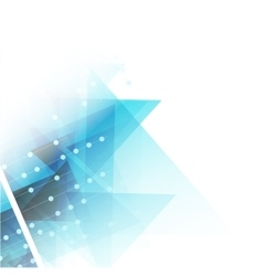 Triangle geometric background vector image vector image