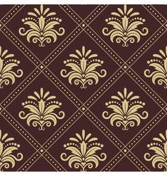 Vintage wallpaper seamless vector