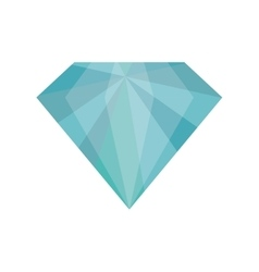 Diamond icon gem design graphic vector
