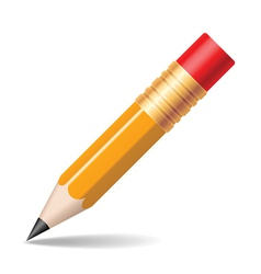pencil vector image vector image