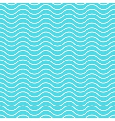 Wave background seamless pattern waved vector