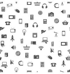 Modern technology seamless pattern vector