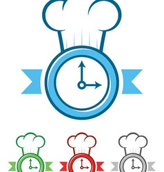 Time to Cook vector image