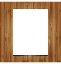 wooden background 1 vector image