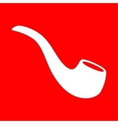 Smoke pipe sign vector