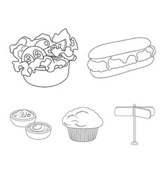 Food rest refreshments and other web icon in vector