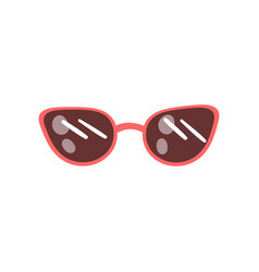 modern sunglasses cartoon vector image
