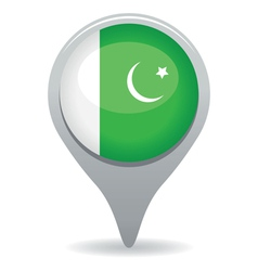 Pakistan flag pointer vector