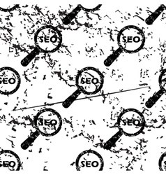 Seo search pattern grunge monochrome vector