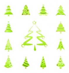 Tree symbols vector
