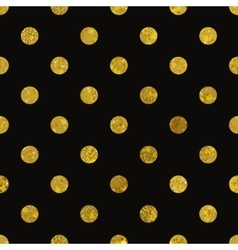Black and gold pattern abstract polka dot vector